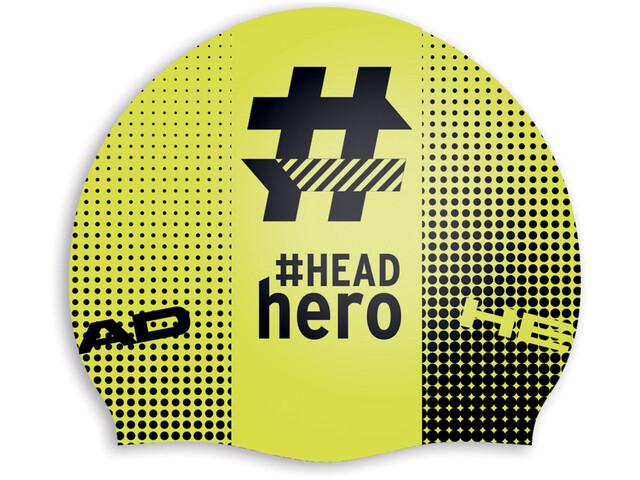 Head Hashtag Silcone Suede Cap Headhero